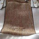 Women's Jessica Simpson Handbag White & Tan beautiful condition ^