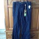 Women's Roxy Size 5 Blue Jeans Sano wide leg