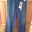 Women's Roxy Limited Edition Size 5 Distressed Blue Jeans ^