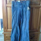 Women's jeans size 1 by volcom wide leg