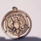 Beautiful Vintage Jewelry 1940's Coin pendant