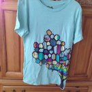 Women's Aqua Shirt By Roxy Size Large