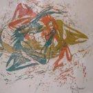 Dancer Woodcut Print Direct From Artist