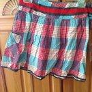Women's Billabong Skirt Plaid Size Small