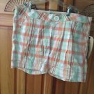Women's Plaid Shorts By O'neill Size 9