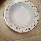 set of 12 plates star motif