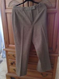 Women's 346 Brooks Brothers Stretch Size 12 Tan Corduroy Pants
