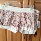 Women's Billabong Print Stretch Hem Shorts Size Large