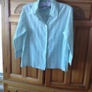 Womens Multicolored Stripe Blouse Size Small by Company Collection