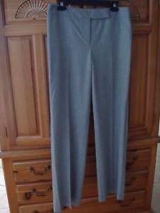 Women's Grey Pants Size 8 by Ann Taylor Loft Beautiful Condition