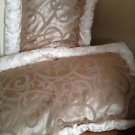Set Of 2: Decorative King Size Pillows