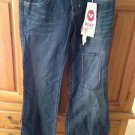 Roxy Limited Edition Size 5 Distressed Blue Jeans
