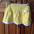 Roxy Girl Soft yellow skirt Size Small