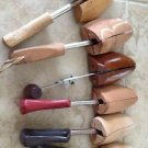 6 Assorted Wooden Shoe Trees