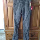 Womens grey jeans size 1 by element straight style