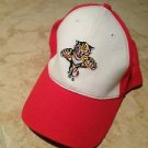 red & white florida panthers hat