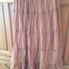 Tan Full Skirt Size Medium By Blue Grass