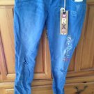 Roxy Pismo Super Skinny Fit Distressed beach blue Jeans Size 7