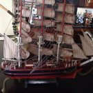 Beautiful Detail to be Enjoyed Wooden sailing ship Cuttysark Sailboat