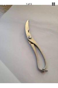chrome plated Italian shears