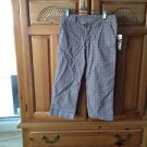 girls plaid pants Size 8 By Roxy girl