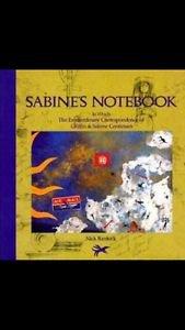 Sabines notebook by nick bandock hardcover
