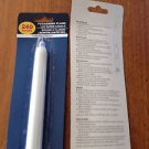 set of 6 candles: flickering flame LED taper candle (2-aaa batteries required)