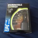 duracell 3 in 1 charger for use with most gps devices via wall, car, or usb port