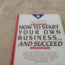 how to start your own business & succeed by Arthur kuriloff (cd not included)