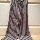 Womans Pants Size medium by Jaclyn Smith Blue And Cream Stripe