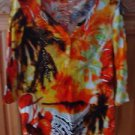 Women's Dramatic Print Shirt Size Petite Medium by Onque Petite