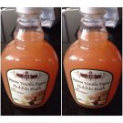 Set of 2 Silk Warm Vanilla Sugar Bubble Bath With Shea Butter 24 oz each