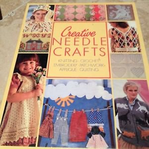 creative needlepoint crafts applique crochet embroidery knitting patchwork quilt
