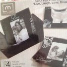 8 Photo Coasters By Melamco live laugh love dream (2 sets of 4)