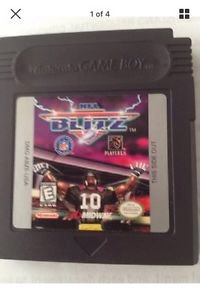 NFL Blitz Cartridge for Game Boy ( cartridge only)