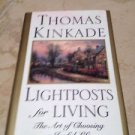 thomas kinkade lightposts for living the art of choosing a joyful life hardcover