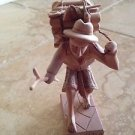 """wood carving sculpture of man carrying wood 6"""""""