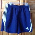 men's blue athletic shorts size large by Adidas