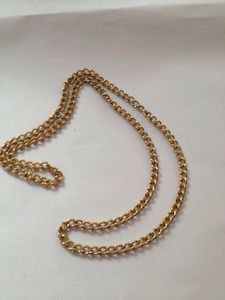 1940's vintage jewelry beautiful extra long necklace