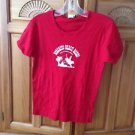 Women's red shirt size medium rosarito beach rodeo Baja California by Chang
