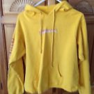 yellow hoodie sweatshirt by billabong size large beautiful condition