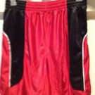 Comfortable Shorts By Champion Size Large Red & Black