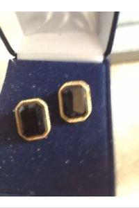 1940's vintage jewelry clip on earrings