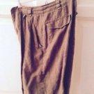Ellen Tracy Shorts Size 8 100% Linen
