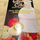 quick chop chefs kitchen mate chop mince slice dice with just a tap