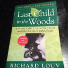 last child in the woods by richard louv softcover