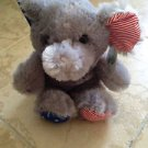 plush elephant stuffed animal election red white and blue paws