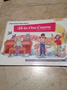 Alfred's basic piano all in one course lesson theory solo softcover