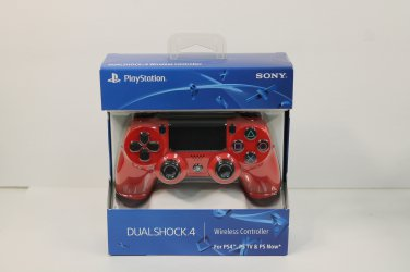 New Official Sony PlayStation 4 PS4 Dualshock 4 Wireless Controller Magma Red