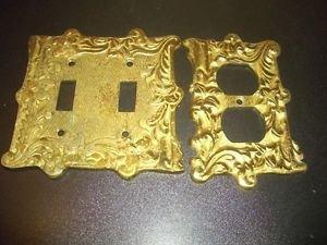 Vintage Brass Light Socket Cover Outlet Japan Quality Antique Hardware